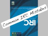 Common IRC Mistakes