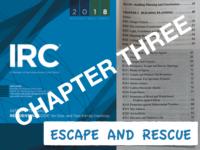 IRC 3 Escape & Rescue