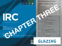 IRC 3 Glazing