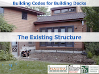 Decks (1/4) The Existing Structure
