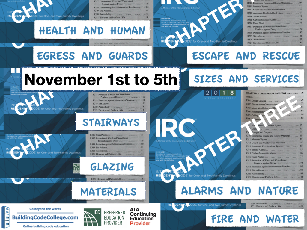 IRC chapter 3 package
